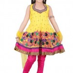 Kids Latest Anarkali Summer Eid Wear collection 2012-13