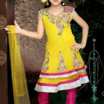 Kids Latest Anarkali Summer Eid Wear collection 2012