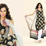 Lala Textiles Latest Vintage Eid Lawn Collection 2012-2013 For Women