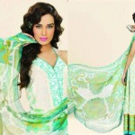 Lala Textiles Latest Vintage Eid Lawn Collection 2012 For Women