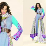 Lala Textiles Latest Vintage Eid Lawn Collection 2013-12 For Women