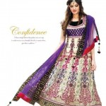 Latest Bridal Anarkali Frocks Collection 2012