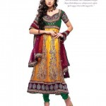 Latest Bridal Embroidered Anarkali Frocks Collection 2012-13