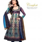 Latest Bridal Embroidered Anarkali Frocks Collection 2013-12
