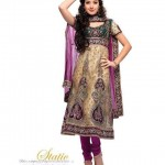 Latest Bridal Embroidered Anarkali Frocks Collection For Eid