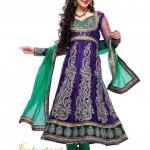 Latest Bridal Embroidered Anarkali Frocks Dresses 2012