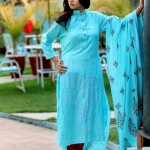 Latest Damak Mid summer Ramadhan Eid Dress Collection For Women