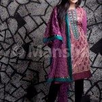Latest Embroidered Dress Collection Eid 2012 for women by Mansha