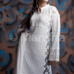 Latest Embroidered Dress Summer Collection Eid 2012 for women by Mansha Boutique