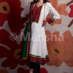Latest Embroidered Salwar Suit Eid Dress 2012 for women by Mansha Boutique