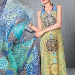 Latest Faiza Samee Lawn Prints Collection 2012 by Alkaram Textiles