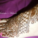 Latest Feet Mehndi Designs Collection 2012 For Eid by Madihas Mehndi