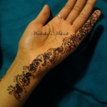 Latest Hand Mehndi Designs Collection For Eid by Madihas Mehndi