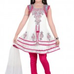 Latest Kids Anarkali Summer Eid Wear collection