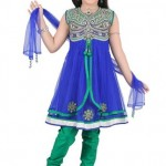 Latest Kids Anarkali Summer Eid Wear collection 2012-13