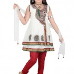 Latest Kids Anarkali Summer Eid Wear collection 2012