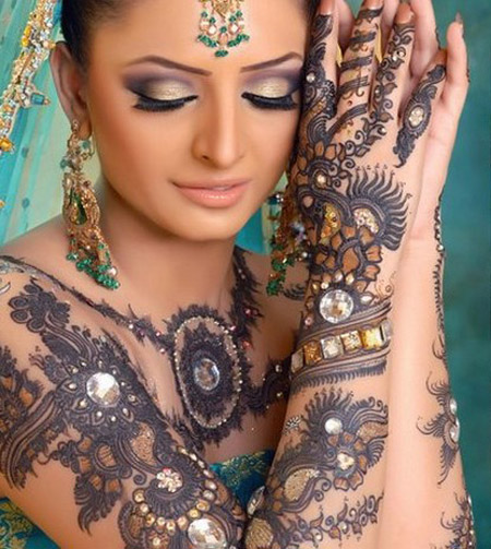 Latest Mehndi Designs For Hands For Eid
