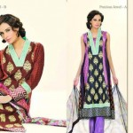 Latest Vintage Eid Lawn Collection 2012 For Women by Lala Textiles 02
