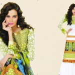 Latest Vintage Eid Lawn Collection 2012 For Women by Lala Textiles 1