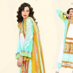 Latest Vintage Eid Lawn prints 2012 For Women by Lala Textiles