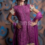Latest women Embroidered Salwar Suit Collection Eid 2012 by Mansha Boutique
