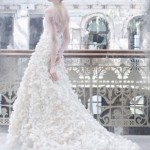 Lazaro Fall Bridal Gown Wedding Dress 2012