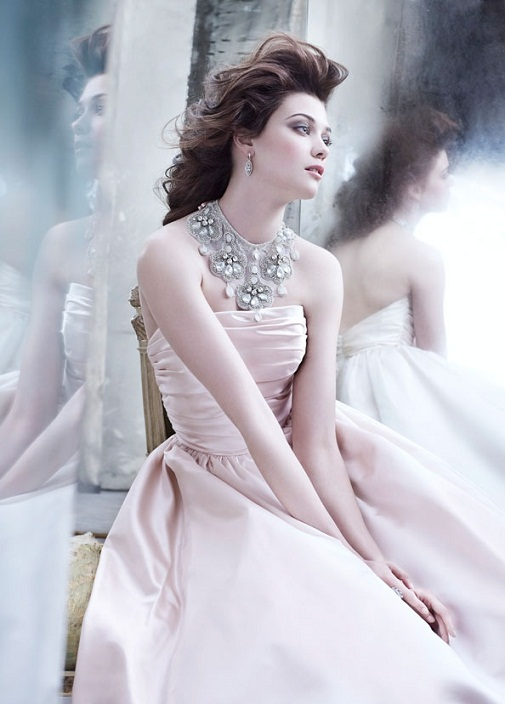 Lazaro Fall Bridal Gown Wedding Dress Collection 2013-12