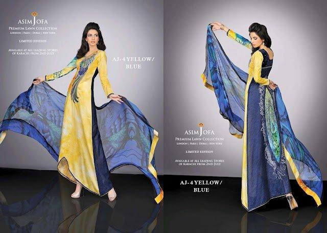 Limited Edition Lawn Collection 2012-13 By Designer Asim Jofa