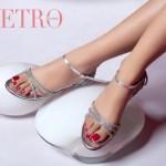 Metro Shoes Latest Eid Mid Summer Footwear 2012 For Women