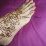 New Trendy Feet Mehndi Designs Collection 2012 For Eid by Madihas Mehndi