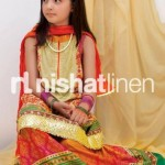 Nishat Linen Nisha Princess Festive Collection 2012 For Kids 1