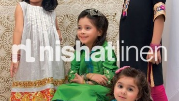 Nishat Linen Nisha Princess Festive Collection 2012 For Kids