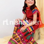 Nishat Linen Nisha Princess Festive Collection 2012 For Kids 5