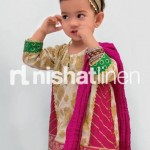 Nishat Linen Nisha Princess Festive Collection 2012 For Kids 8