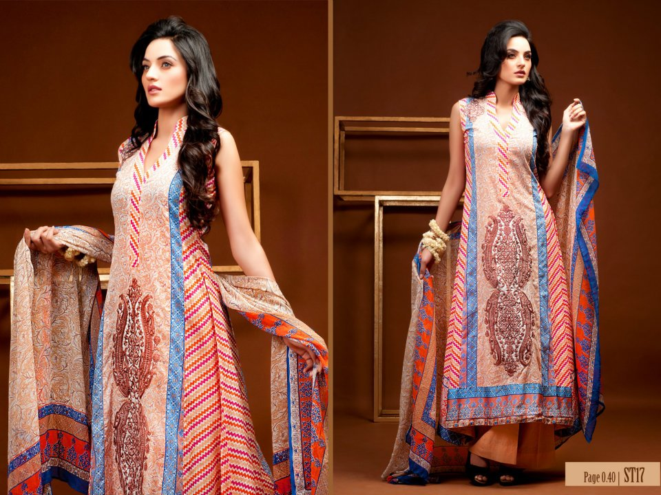 Rabea Lawn Eid Prints for Women from Shariq Textiles