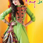 Rang Ja Stylish Mid Summer Eid Collection 2012 For Women 2