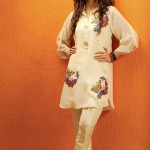 Shirin Hassan Eid Collection 2012 Silk Long Shirts, Tunics (1)