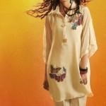 Shirin Hassan Eid Collection 2012 Silk Long Shirts, Tunics (2)
