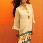 Shirin Hassan Eid Collection 2012 Silk Long Shirts, Tunics (3)
