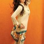 Shirin Hassan Eid Collection 2012 Silk Long Shirts, Tunics (4)