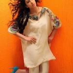 Shirin Hassan Eid Collection 2012 Silk Long Shirts, Tunics (5)