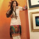Shirin Hassan Eid Collection 2012 Silk Long Shirts, Tunics (6)