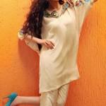 Shirin Hassan Eid Collection 2012 Silk Long Shirts, Tunics (7)