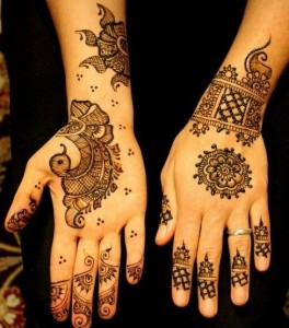 Stylish And Easy Eid Mehndi Designs 2012 for Girls and Women 3