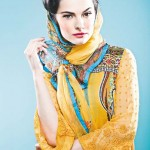 Vogue Embroidered Silk Eid Dress Collection 2012 by Five Star Textile (1)