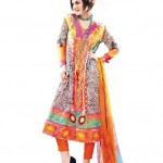 Vogue Embroidered Silk Eid Dress Collection 2012 by Five Star Textile (7)