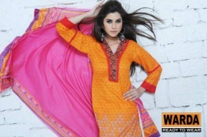 Warda Designers Latest Ready To Wear Eid Collection 2012 for Women (1)