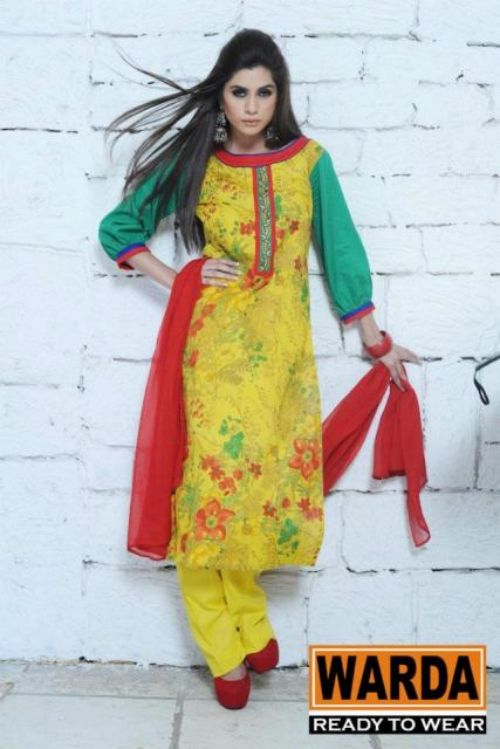 Warda Designers Stylish Ready To Wear Eid Collection 2012 for Women (1)