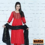Warda Designers Stylish Ready To Wear Eid Collection 2012 for Women (4)