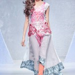 graet look collection of sadia lawn dresses in london Fashion Week 2012